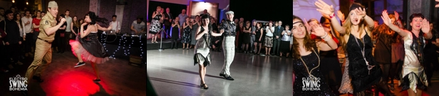 Rock and roll, charleston, lindy hop